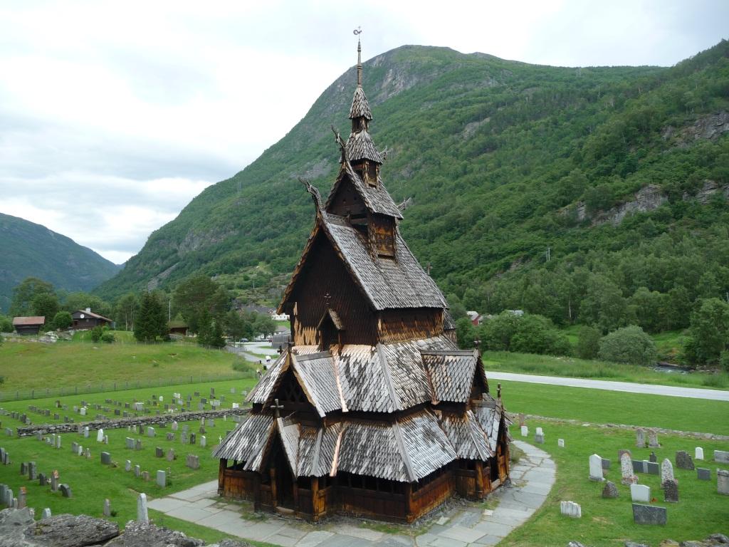 L'église en bois de Borgund