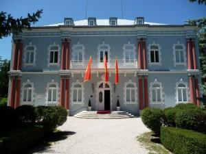 Bâtiment d'une ancienne légation étrangère à Cetinje