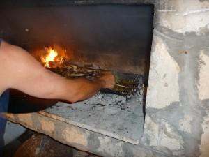 Barbecue à côté de Dubrovnik