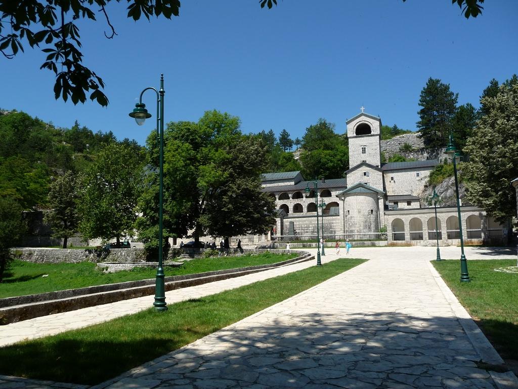 Un monastère à Cetinje