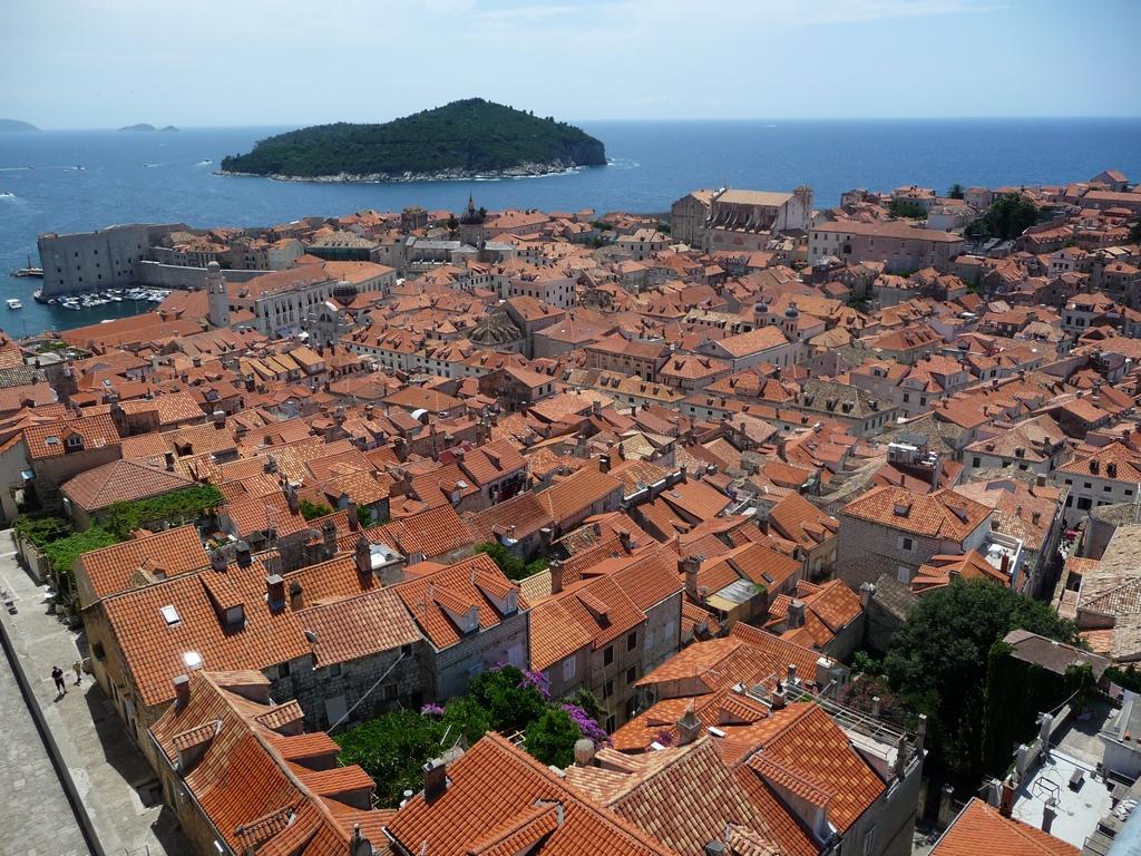 Dubrovnik, vue des remparts