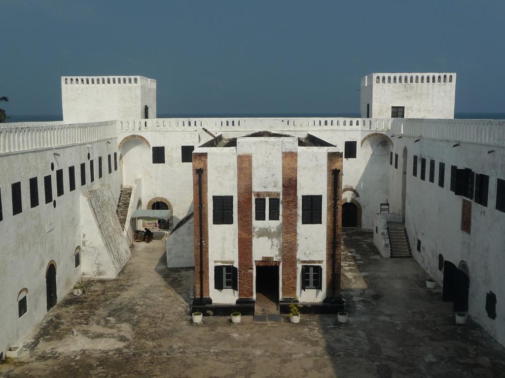 La cour intérieure d'Elmina Castle