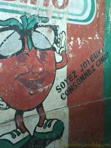 Une pub pour une sauce tomate