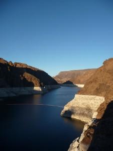 Le lac Mead créé par le barrage Hoover