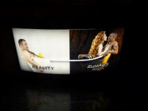 """Préférez-vous la réalité ou la """"zumanity"""" ?"""