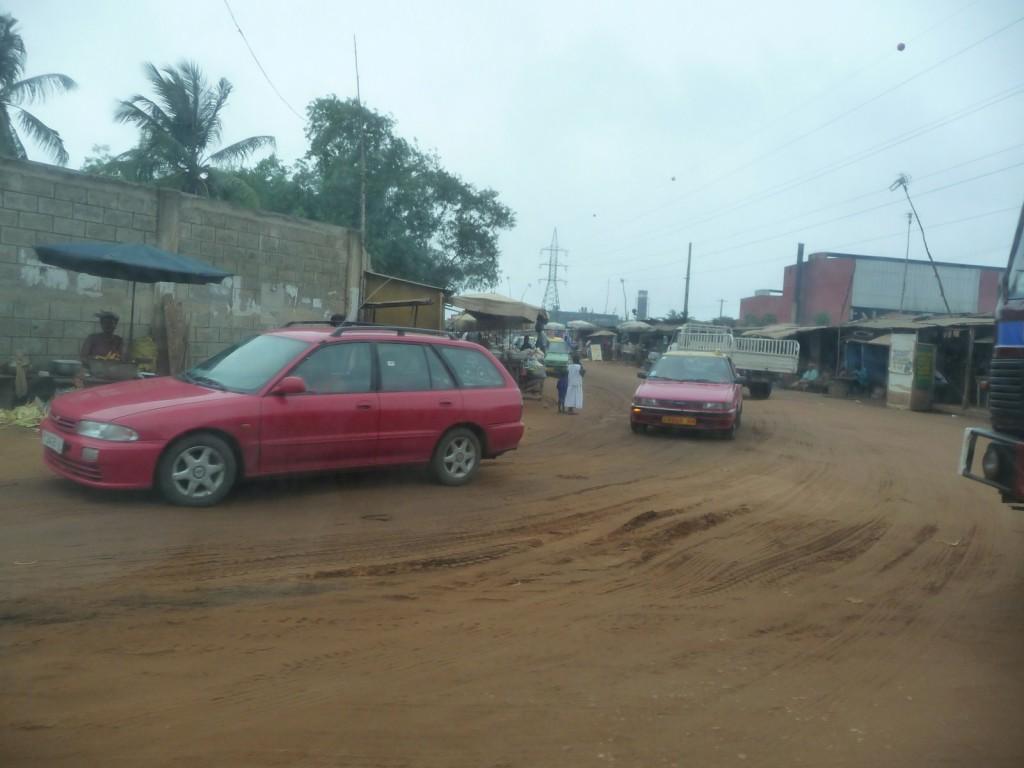 Arrivée au Togo, à Lomé...
