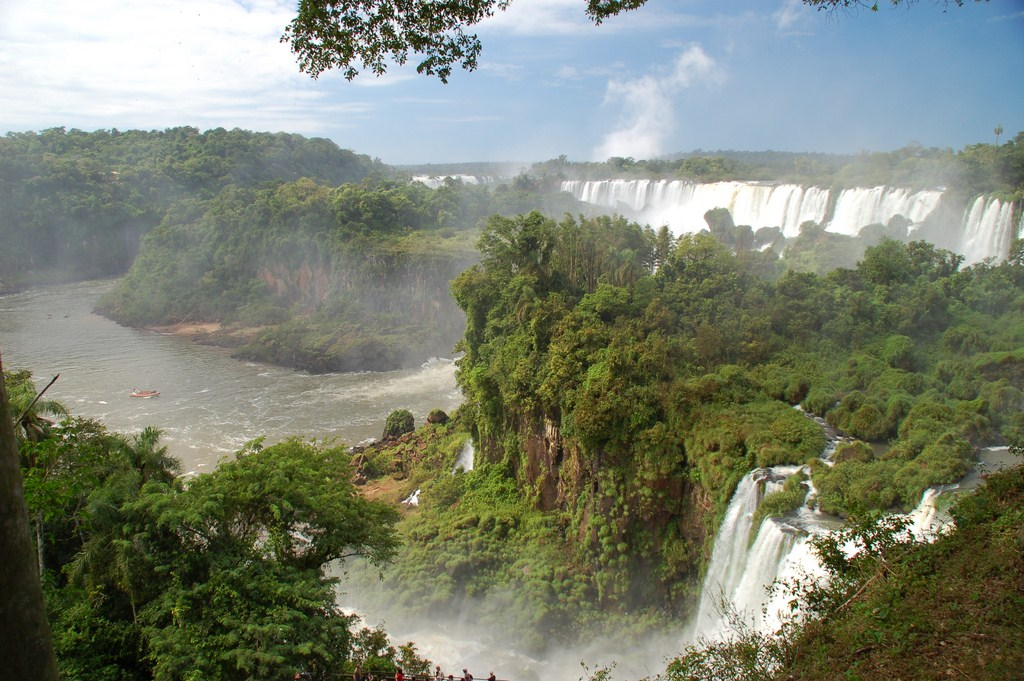 Les chutes d'Iguazu à la frontière Argentine - Brésil
