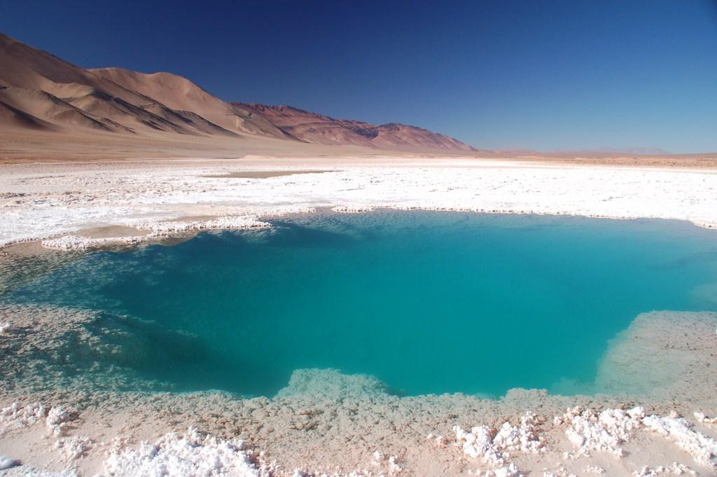 Les déserts de sel de Tolar Grande