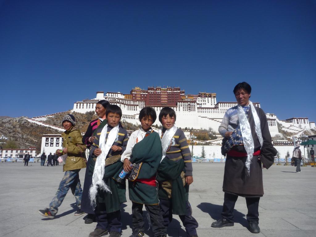 Le Potala Palace à Lhassa