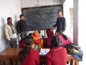 Des cours dans une ONG
