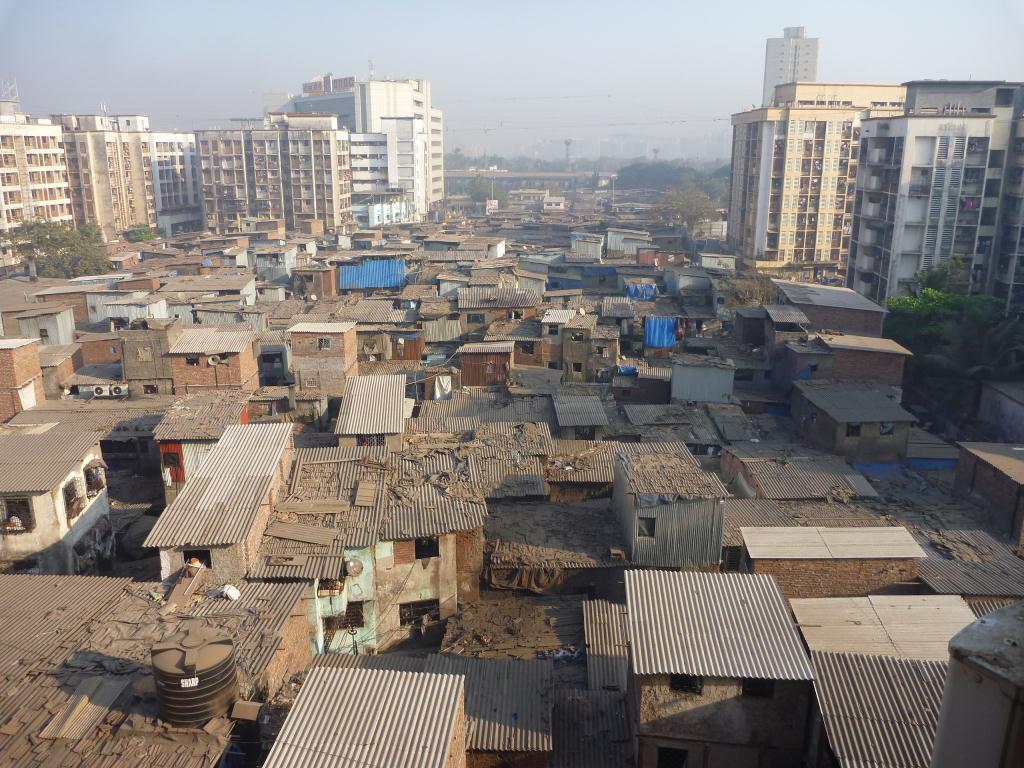 Un bidonville