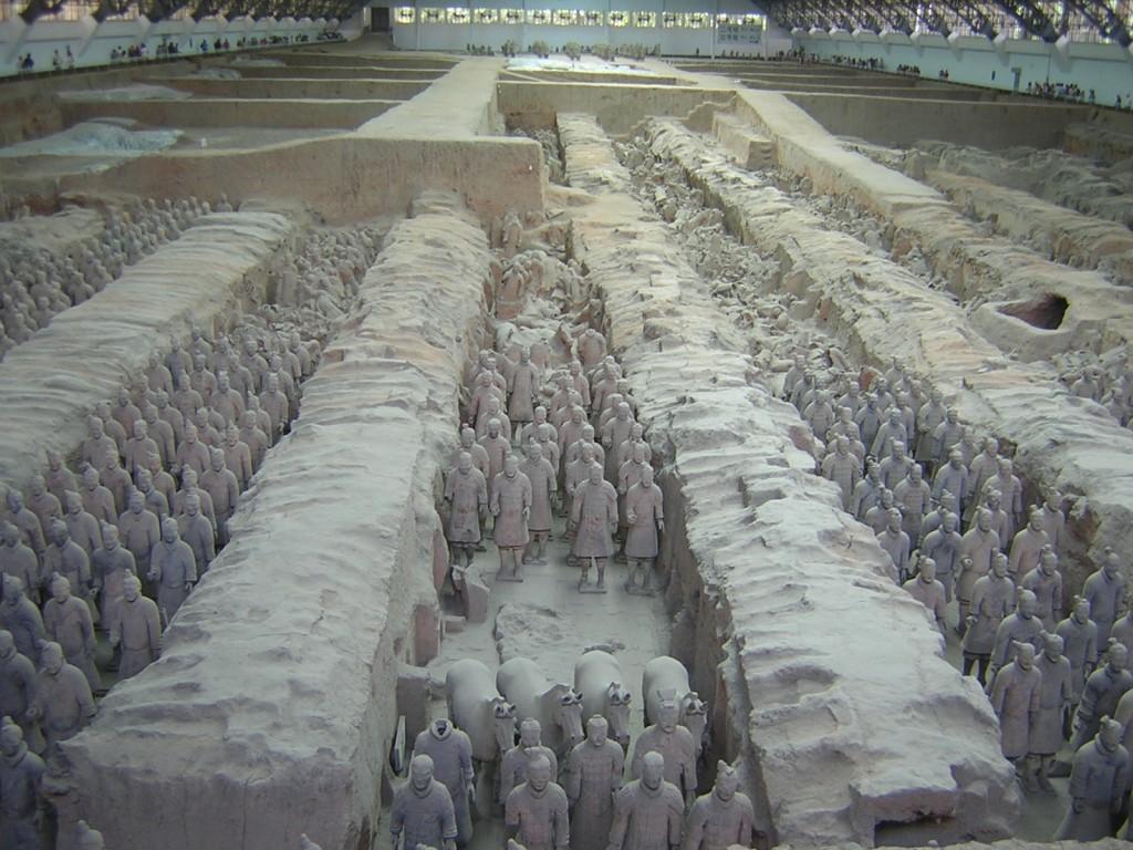 L'armée en terre cuite de l'empereur Qin