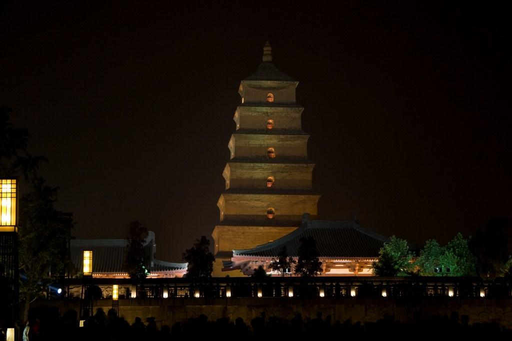 La grande pagode de l'oie sauvage à Xi'an