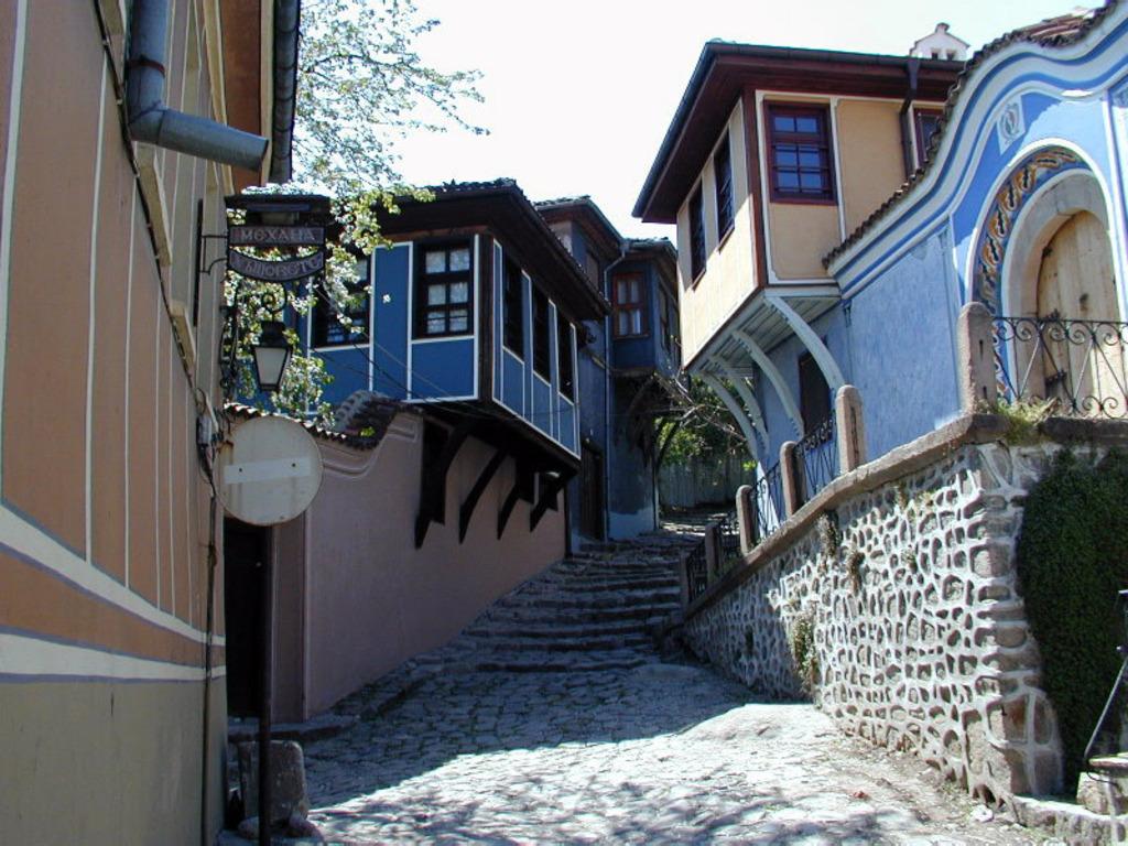 Une ruelle dans le vieux Plovdiv