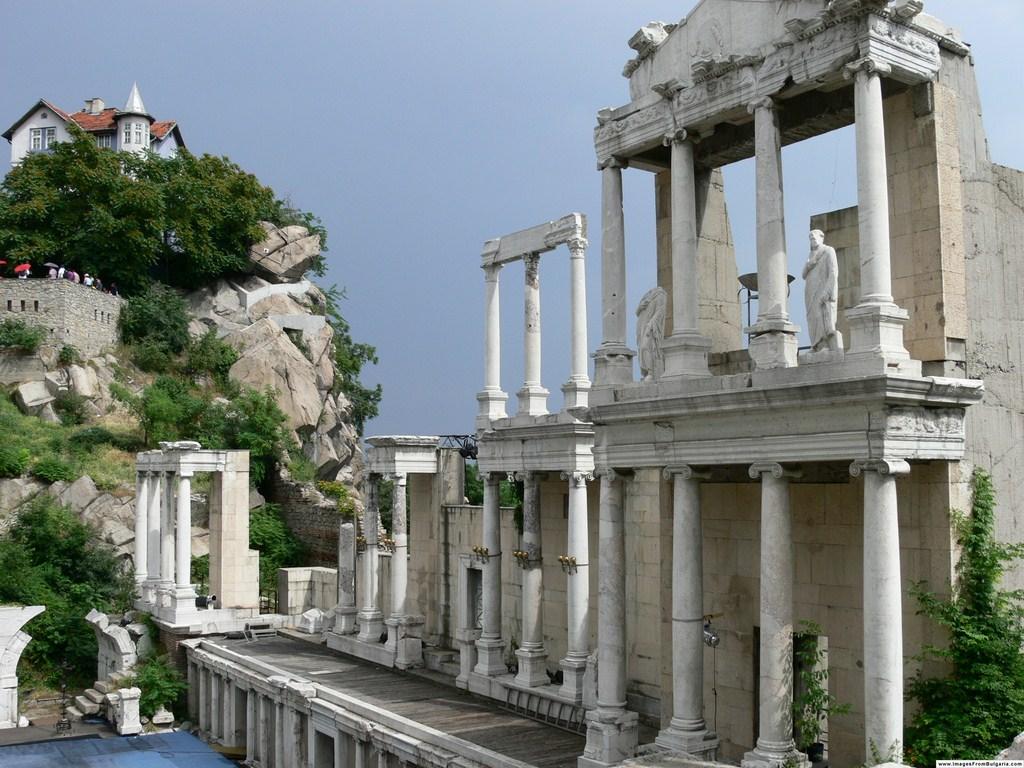 Le théâtre romain de Plovdiv