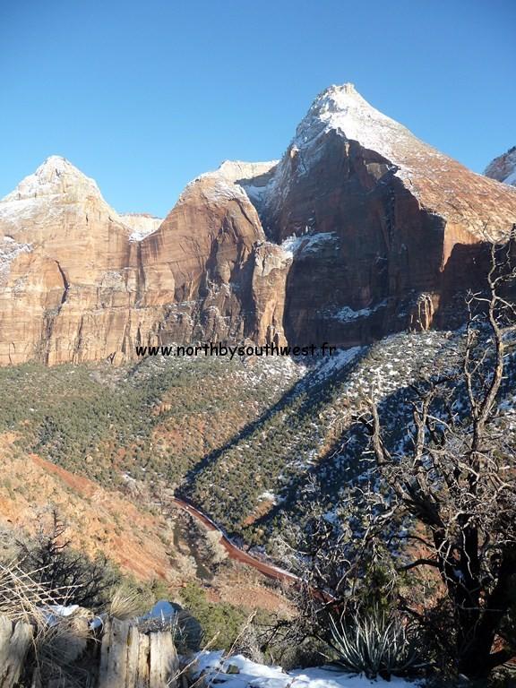 Zion Park est également un paradis pour les grimpeurs !