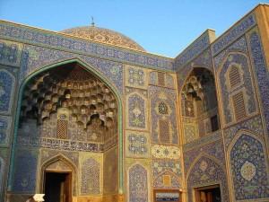 Une des nombreuses mosquées d'Ispahan