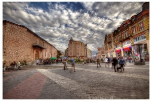 Plovdiv, ancienne ville romaine en Bulgarie