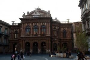 Le théâtre Massimo Belline à Catania