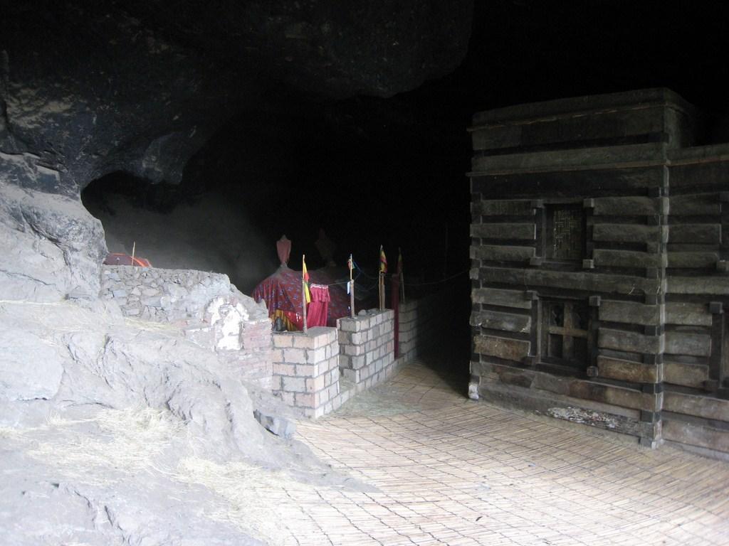 La tombe du fondateur de l'église