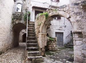 La vieille ville de Trogir et ses ruelles