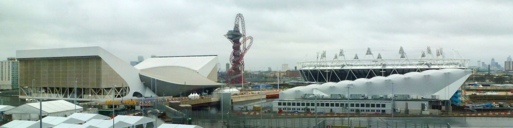 Le parc olympique de Londres 2012