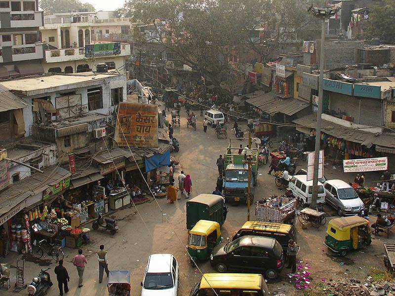 Decouverte de l'Inde, Delhi, Calcutta, Bombay