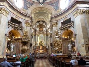 Le style baroque de la cathédrale