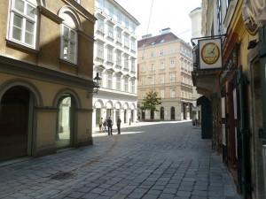 Une des ruelles du vieux Viennes