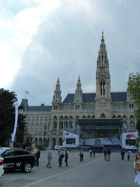 Le Rathaus, l'hôtel de ville de Vienne