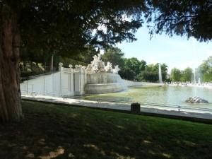 Une cascade à Schonbrunn