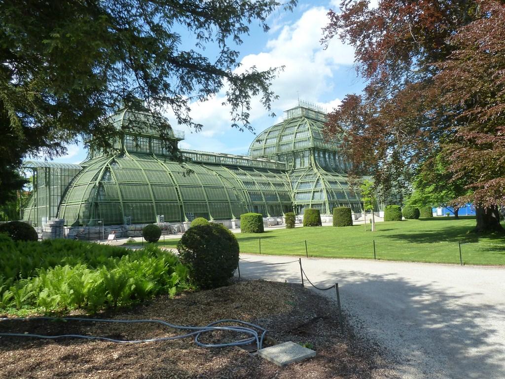 Le Palmeraie dans le parc du Schonbrunn