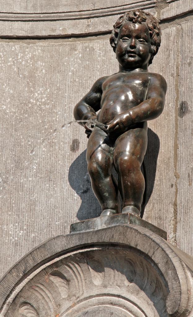 Manneken-Pis visite de Bruxelles