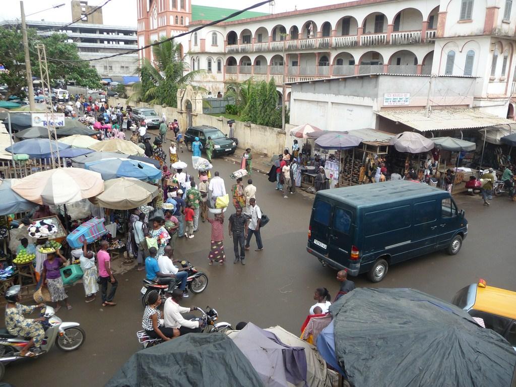 Le Grand marché de Lomé