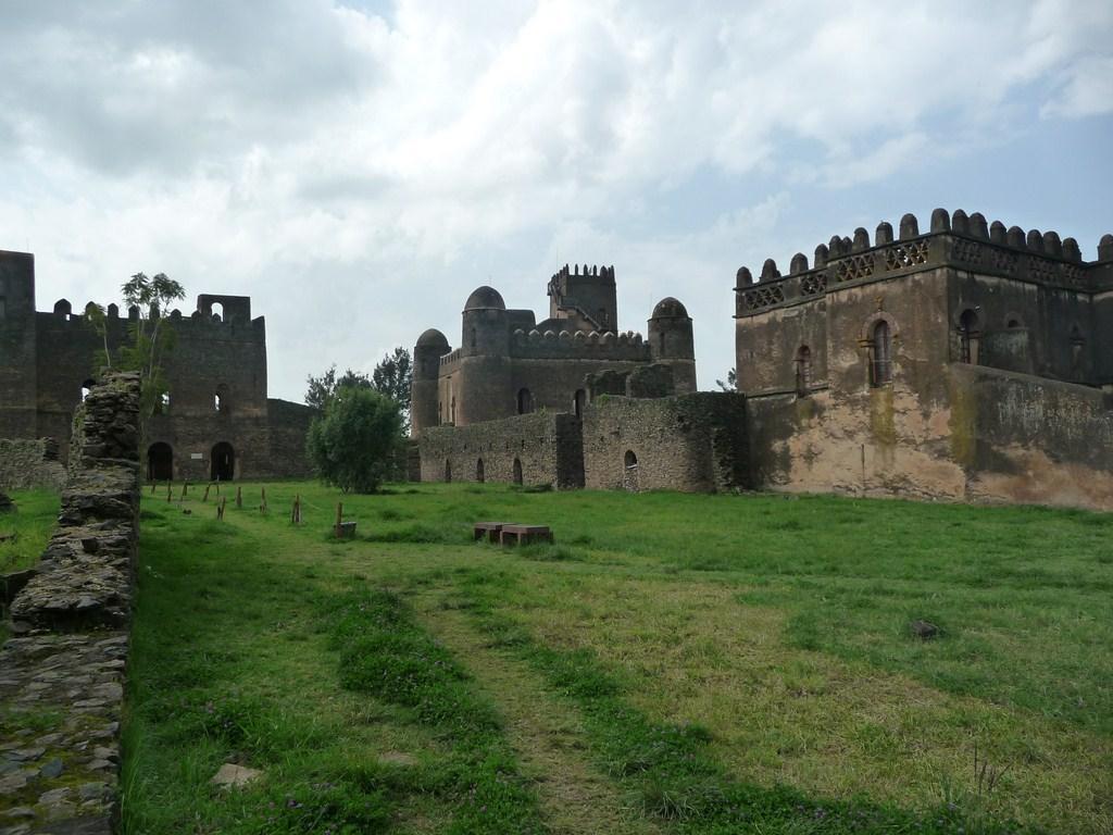 Les forts portuguais de Gondar en Ethiopie