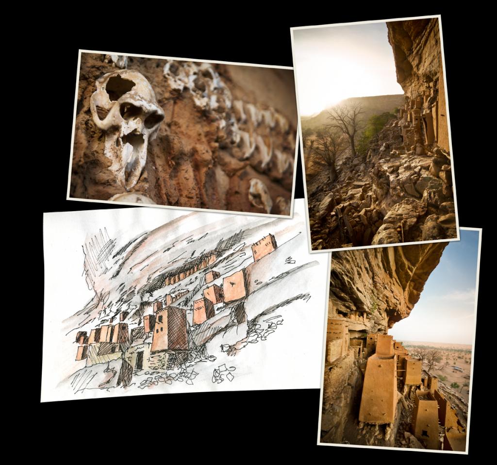Les dogons et le Mali