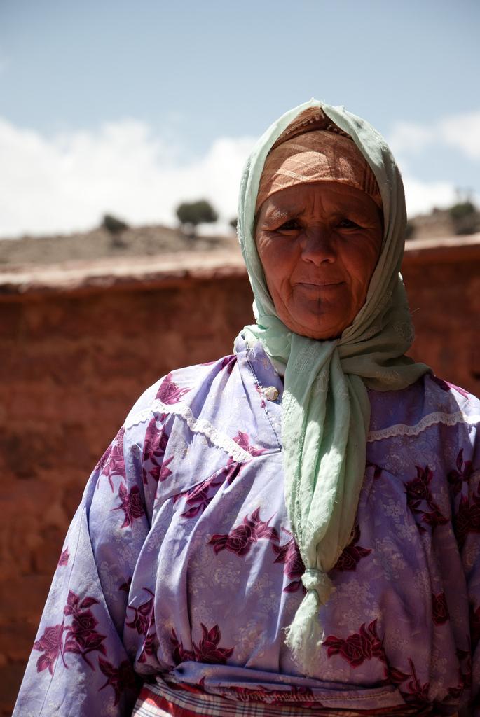 Une femme berbère