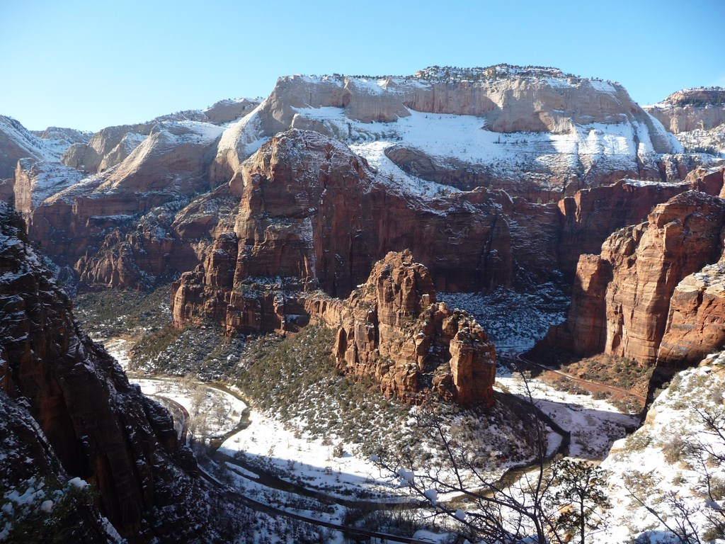 Le Zion national park