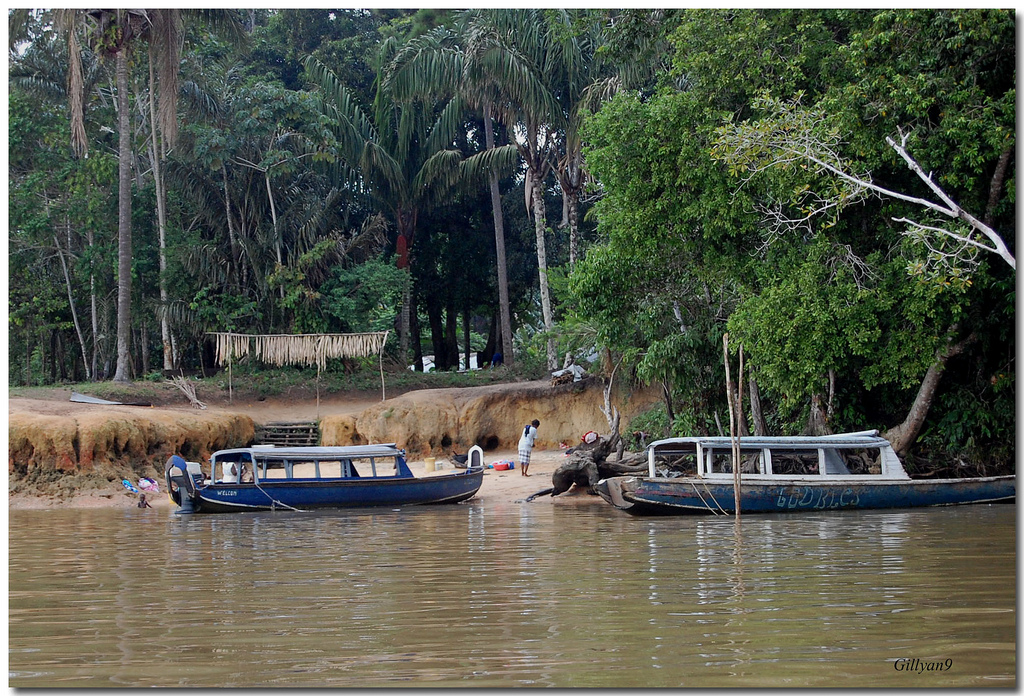 Un des cours d'eau